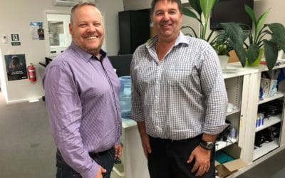 Cloverdale ACT Manager Stuart and Craig