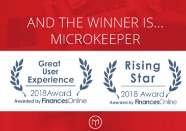 Microkeeper award