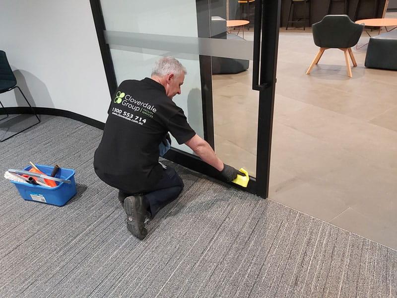 Internal Door Cleaning