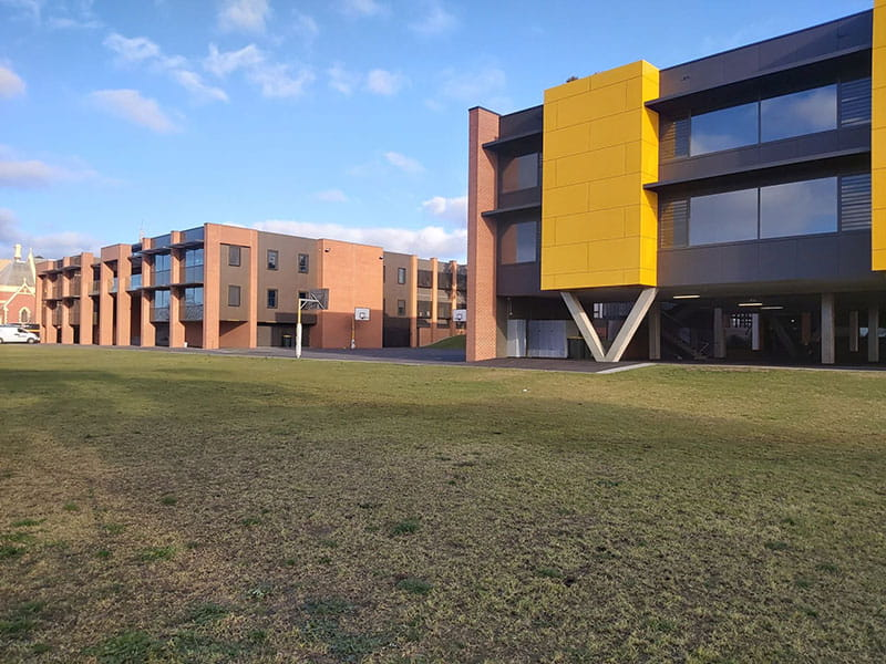 High School Yard