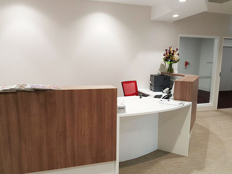 Cloverdale office reception foyer cleaning services